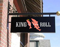 King of the Roll Brand/Identity work
