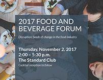 Plante Moran 2017 Food & Beverage Forum