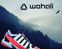 wohali - Trail running shoe design project