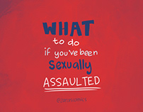 What to do if you've been sexually assaulted