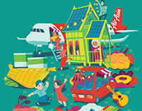 AirAsia Raya 2019 | Illustration