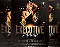 Executive Fridays - Club A5 Template