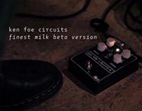 Ken Foe Circuits Finest Milk | Demo Video