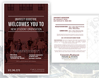 2016 New Student Orientation Postcard - University Book