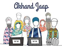 Akhand Jaap - Social Media & Print Poster
