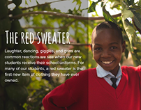 Red Sweater Project Design