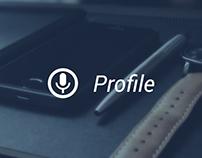 Voice Profile App