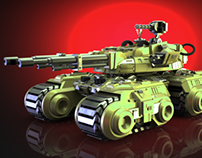 Mammoth Tank 3D model for printing