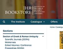 IHR Bookstore
