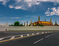 The Grand Palace Bangkok Thailand.