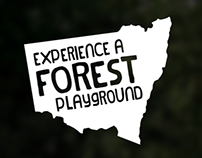 Experience a Forest Playground - Advertising campaign