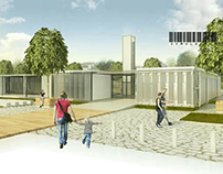 3D exterior // modular final Project
