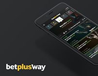 Betway Plus Redesign