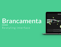 Brancamenta - Restyling Interface