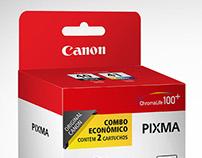 Embalagens Canon Pixma