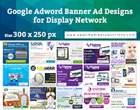 Google Display Network Banner Ads | 300x250px