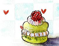 Food Illustration - Torrada Torrada