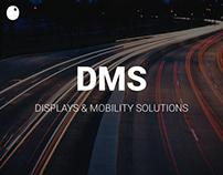 DMS Displays // Website