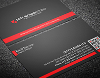Corporate Simple Business Card Vol: 03