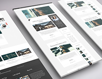 Responsive WordPress Clean & Elegant Blog Theme.