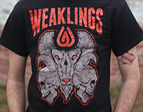 Weaklings 2015 T-Shirt Releases