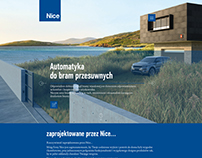 NICE - landing page - home page