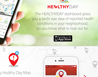 Johnson & Johnson Healthyday App Marketing Site