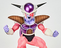 Frieza printed and painted for the Banpresto WFC 2017