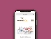 Home&Co Website