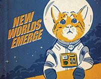CLA 2017 Key Visual - Space Cat