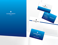 Logo and corporate identity for watch company.