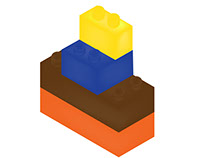 Orthographic & Isometric Legos