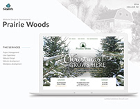 Prairie Woods website redesign