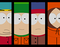 Web and digital media for South Park