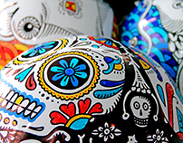 Helmets decoration
