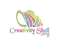 CREATIVITY SHELL - FLAT STYLE LOGO DESIGNING