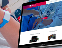 Cardioserel. Web Design