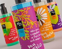 Body Care N°21• Identity and Package Design