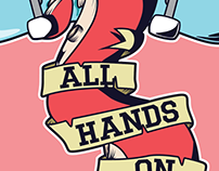 All Hands On Deck - Skateboard Gallery
