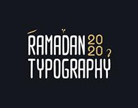 Typography | Ramadan 2020 Ver.01