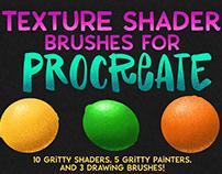 Procreate Texture Shader Brush Set!