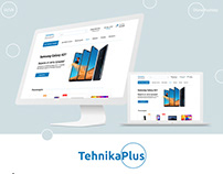 Online store of technology and electronics