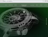 CompliTime — website UX/UI