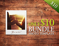 72 Photo Templates Bundle - $10
