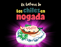 Chiles en Nogada : Illustrated Shortfilm