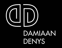 Damiaan Denys – Identity and website design