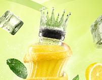 Cappy Lemonade - Poster & TVC