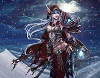 World of Warcraft: Elfa de la Noche
