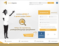 Webdesign | layout | project for: goldenengineers.com