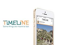 TIMELINE - App design